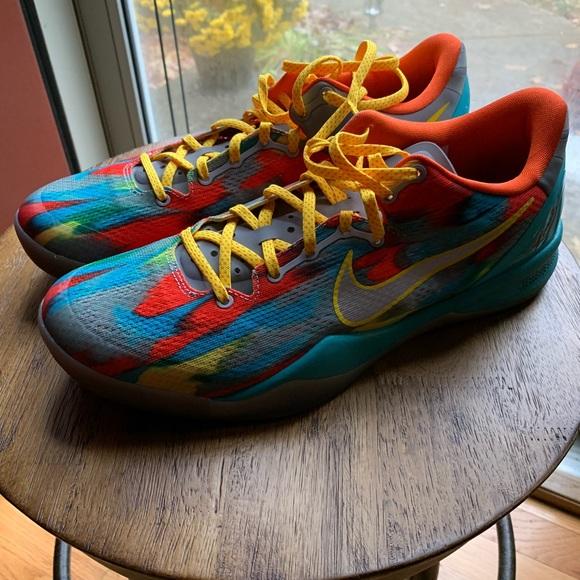 "new product 0880b c7e9c Nike Kobe 8 ""Venice Beach"" Sz 11 Basketball Shoes"